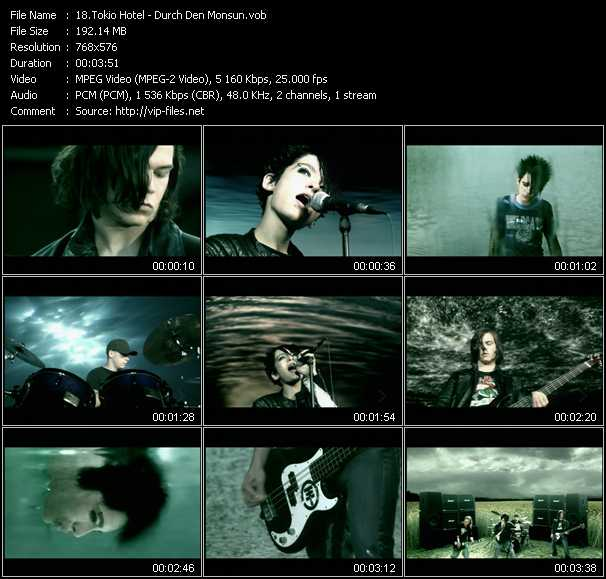 Tokio Hotel - Durch Den Monsun