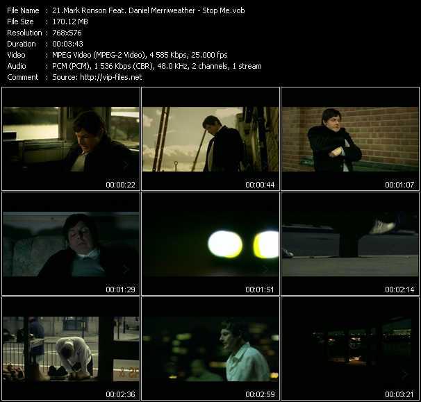 Mark Ronson Feat. Daniel Merriweather - Stop Me