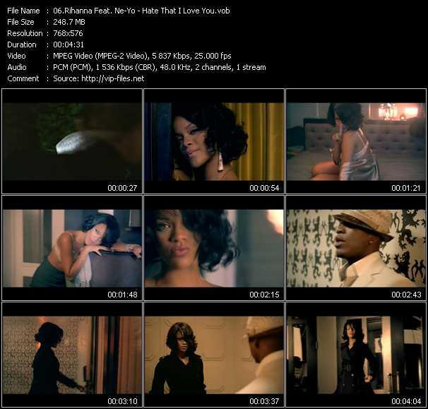 Rihanna Feat. Ne-Yo - Hate That I Love You