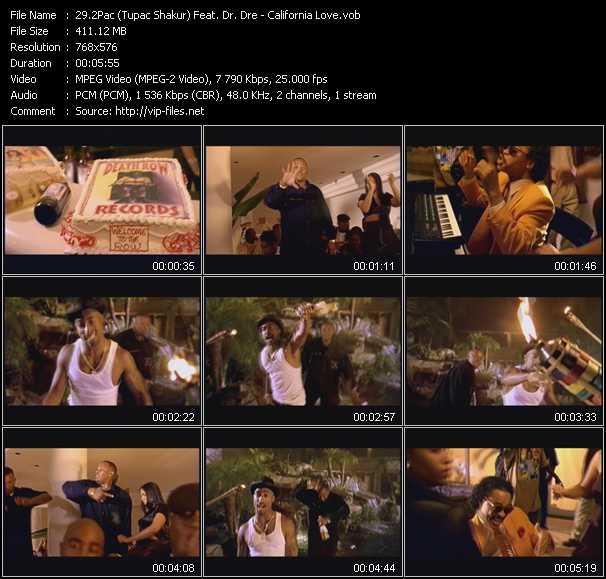 2Pac (Tupac Shakur) Feat. Dr. Dre - California Love