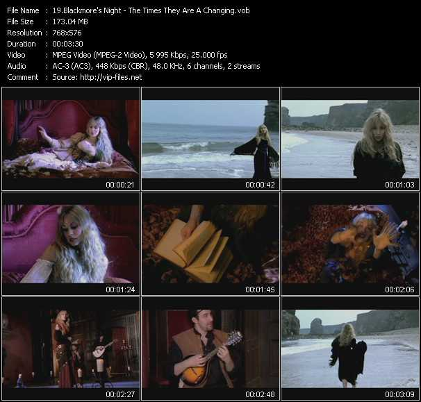 Blackmore's Night - The Times They Are A Changing