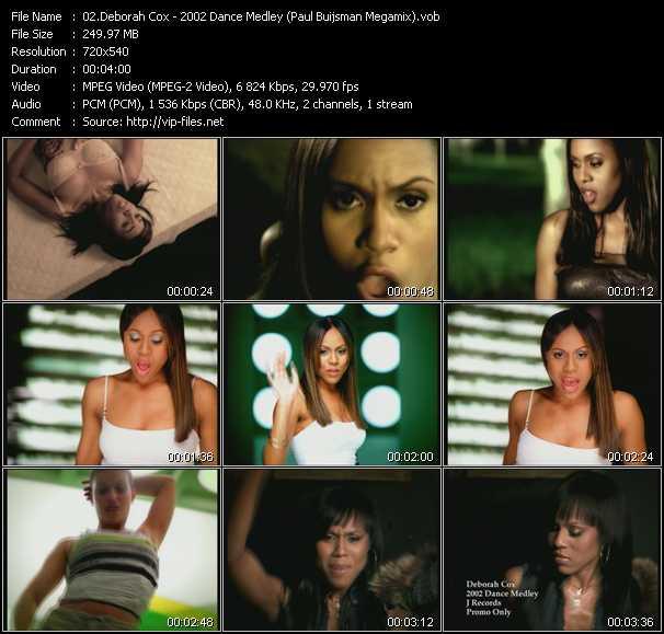 Deborah Cox - 2002 Dance Medley (Paul Buijsman Megamix)