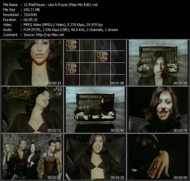 Mad'House - Like A Prayer (Main Mix Edit)