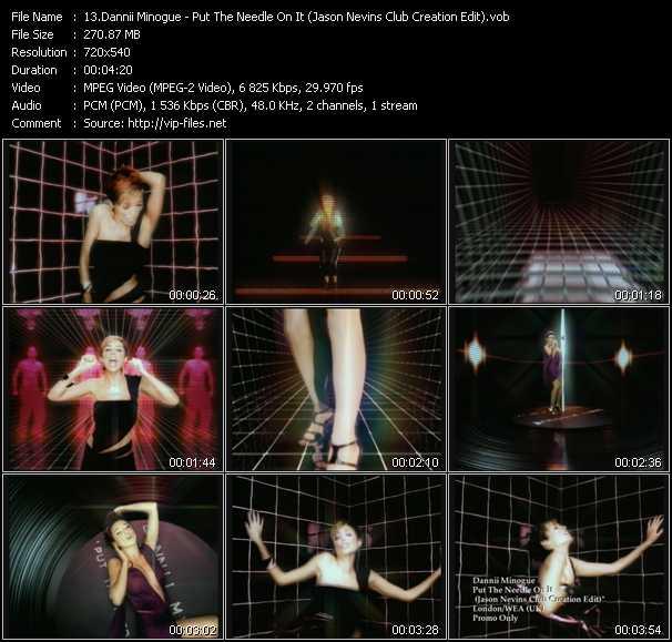 Dannii Minogue - Put The Needle On It (Jason Nevins Club Creation Edit)