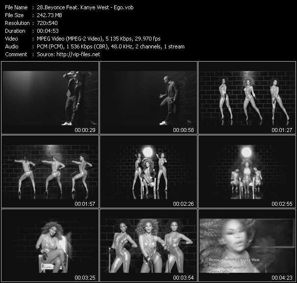 Beyonce Feat. Kanye West - Ego