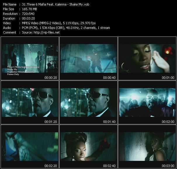 Three 6 Mafia Feat. Kalenna - Shake My
