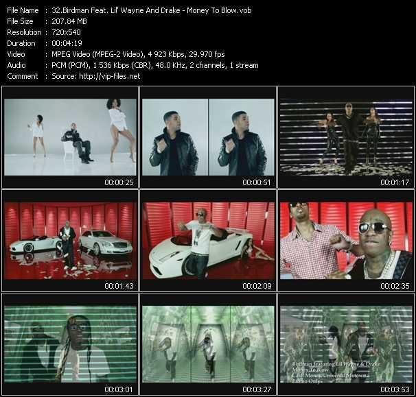 Birdman Feat. Lil' Wayne And Drake - Money To Blow