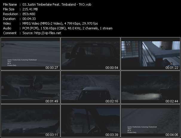 Justin Timberlake Feat. Timbaland - TKO