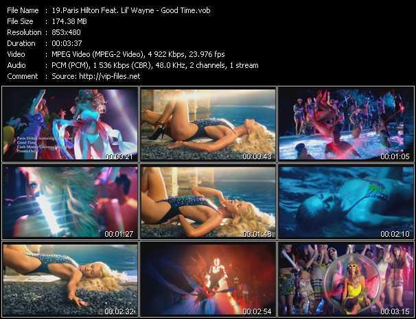Paris Hilton Feat. Lil' Wayne - Good Time