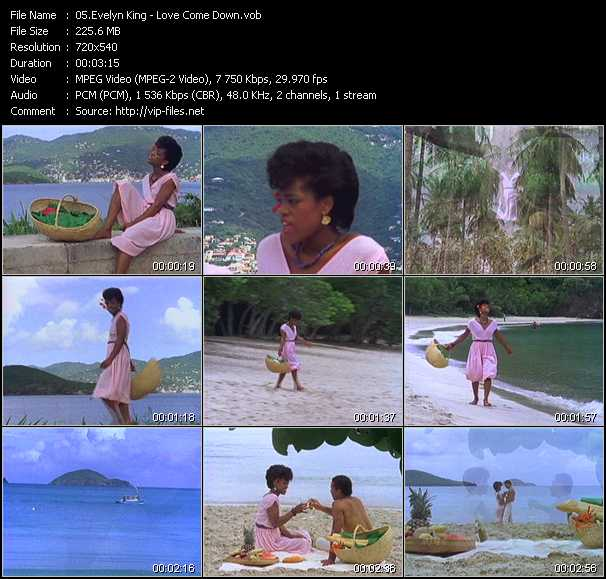 screenschot of Evelyn King (Evelyn Champagne King) video