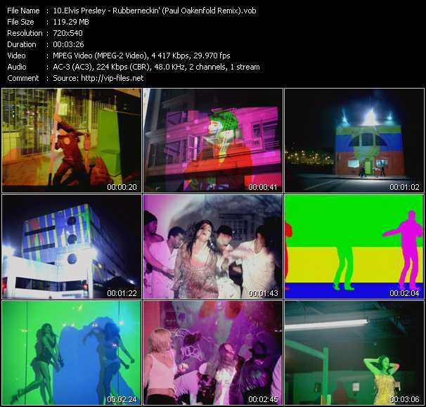 Elvis Presley - Rubberneckin' (Paul Oakenfold Remix)