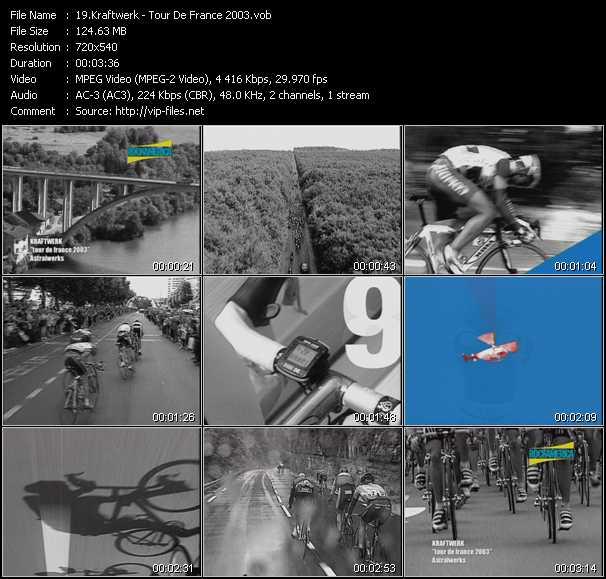 Kraftwerk - Tour De France 2003
