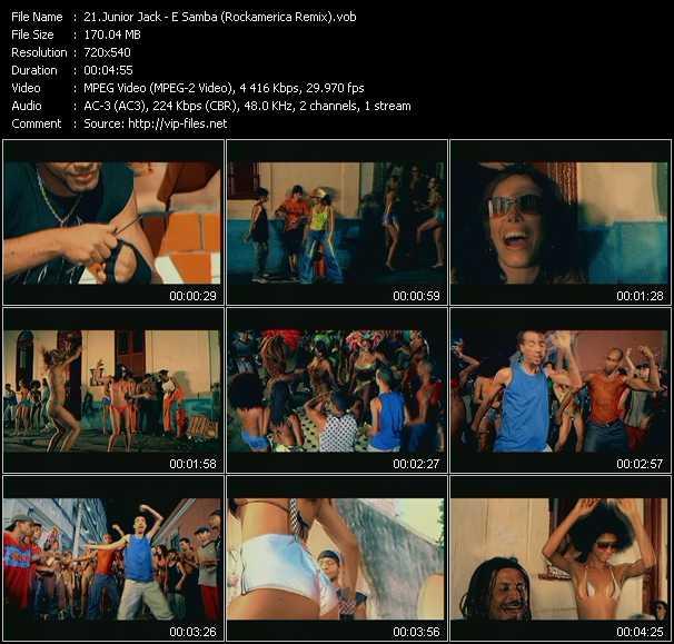 Junior Jack - E Samba (Rockamerica Remix)