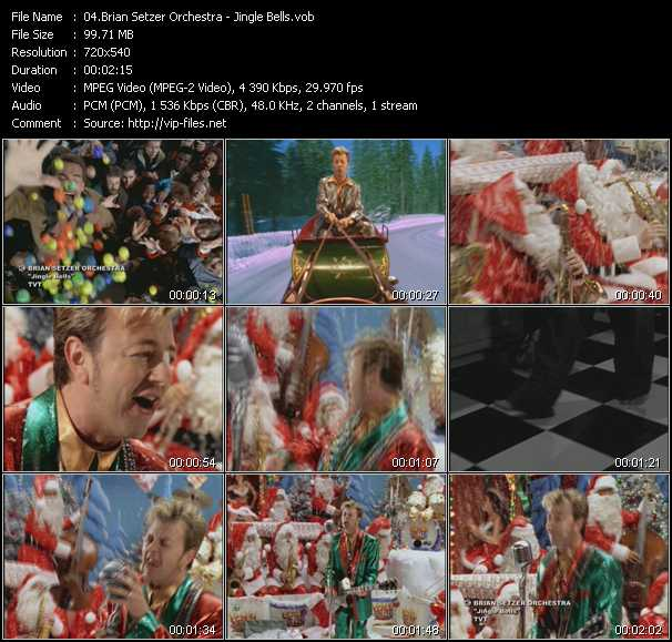 Brian Setzer Orchestra - Jingle Bells