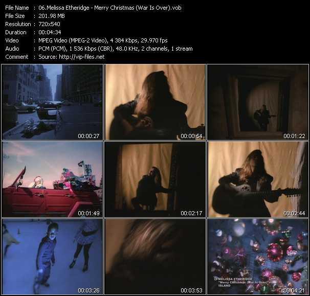 Melissa Etheridge - Merry Christmas (War Is Over)