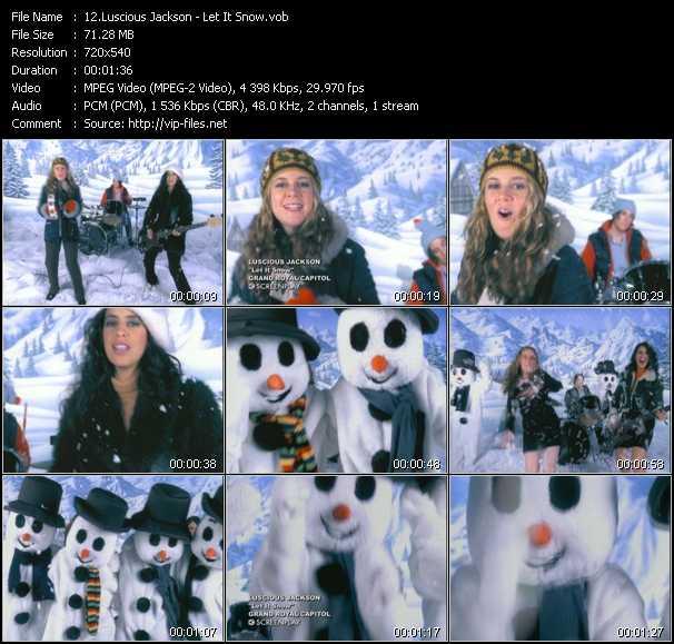 Luscious Jackson - Let It Snow