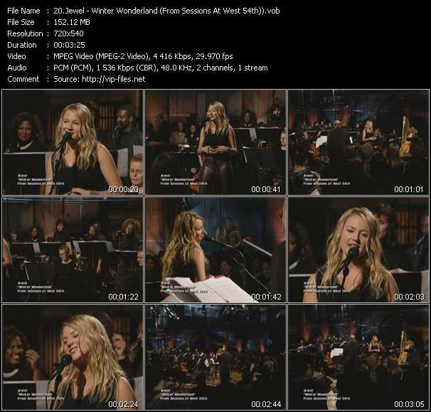 Jewel - Winter Wonderland (From Sessions At West 54th)