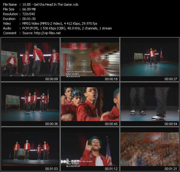 B5 - Get'cha Head In The Game