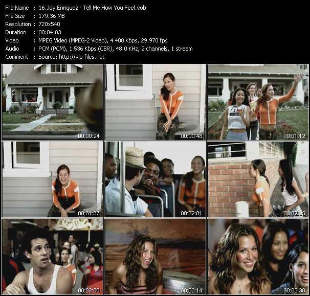 Joy Enriquez - Tell Me How You Feel