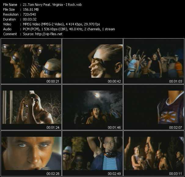 Tom Novy Feat. Virginia - I Rock