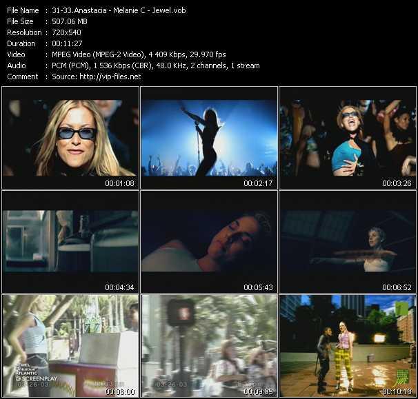 Anastacia - Melanie C - Jewel - I'm Outta Love - Never Be The Same Again - Intuition