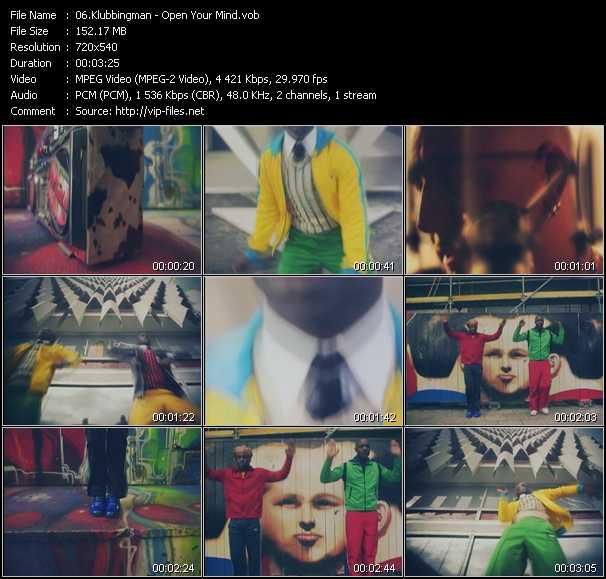 Klubbingman - Open Your Mind