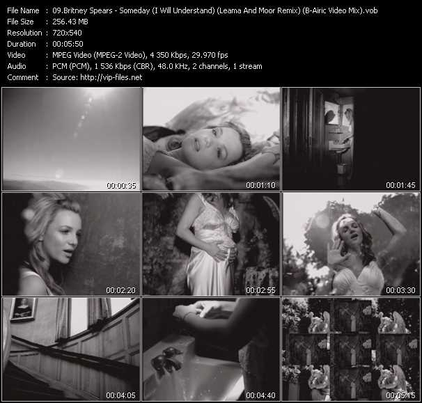 Britney Spears - Someday (I Will Understand) (Leama And Moor Remix) (B-Airic Video Mix)