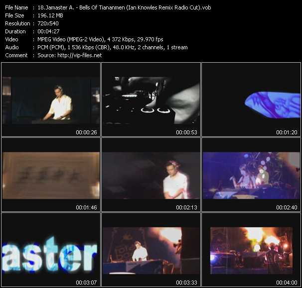 Jamaster A - Bells Of Tiananmen (Ian Knowles Remix Radio Cut)