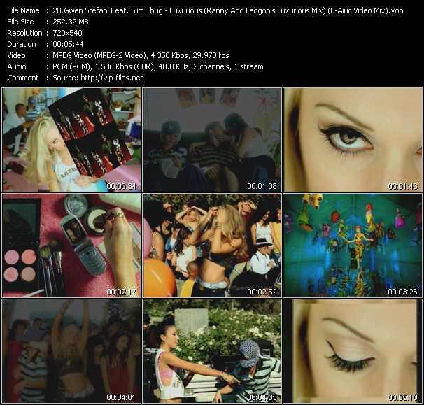 Gwen Stefani Feat. Slim Thug - Luxurious (Ranny And Leogon's Luxurious Mix) (B-Airic Video Mix)