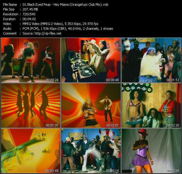 Black Eyed Peas - Hey Mama (Orangefuzz Club Mix)