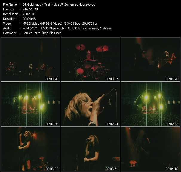 Goldfrapp - Train (Live At Somerset House)