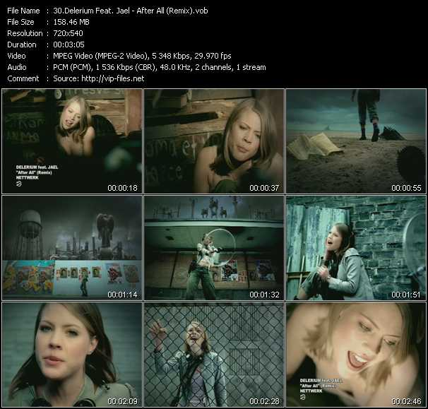 Delerium Feat. Jael - After All (Remix)