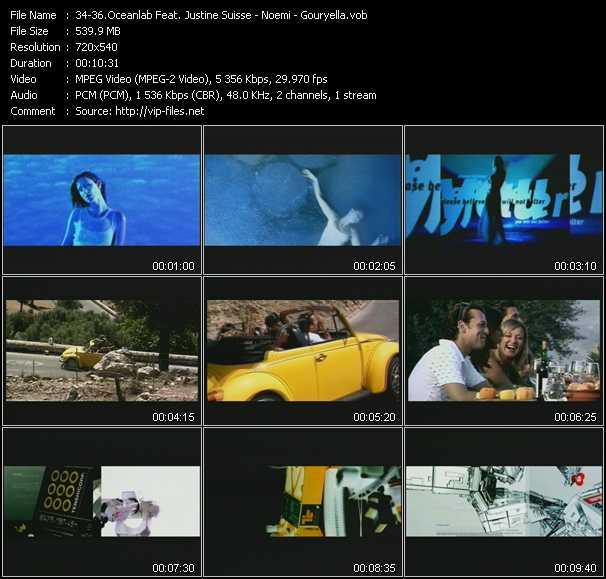 Oceanlab Feat. Justine Suisse - Noemi - Gouryella - Clear Blue Water - Y.O.U. - Tenshi