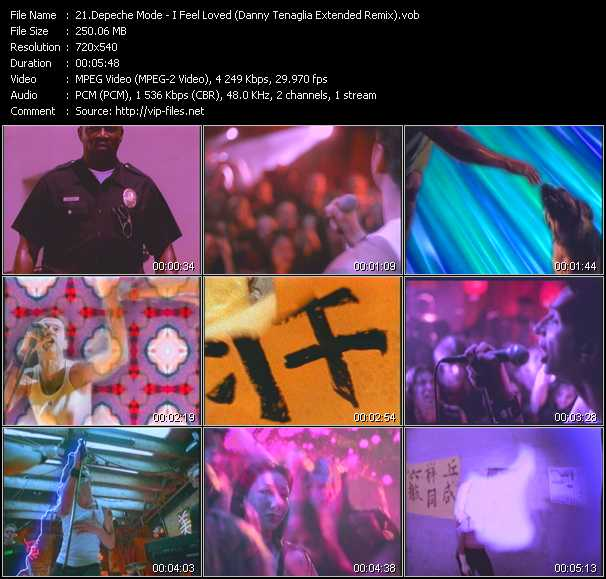 Depeche Mode - I Feel Loved (Danny Tenaglia Extended Remix)