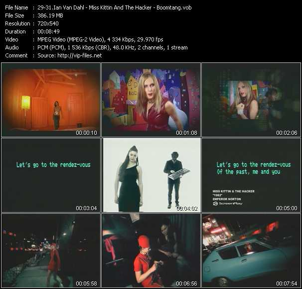 Ian Van Dahl - Miss Kittin And The Hacker - Boomtang - Will I? - 1982 - Movin' On