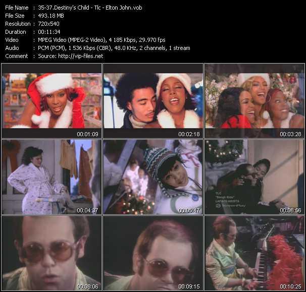 Destiny's Child - Tlc - Elton John - 8 Days Of Christmas - Sleigh Ride - Step Into Christmas
