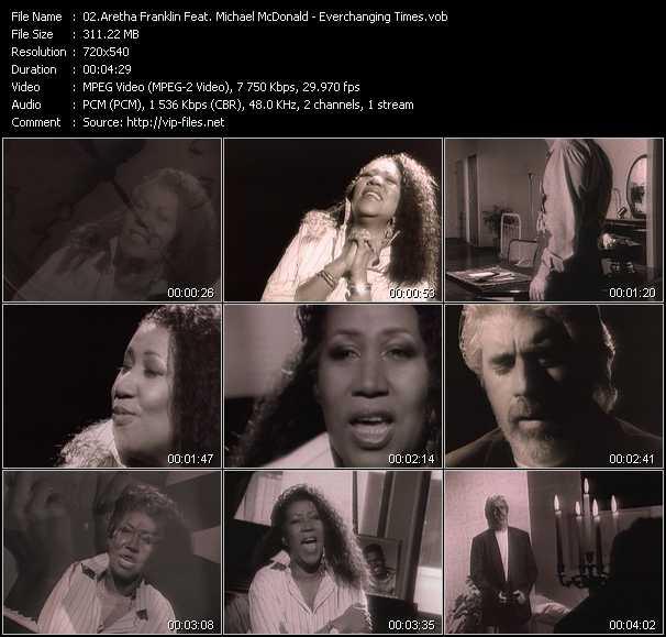 Aretha Franklin Feat. Michael McDonald - Everchanging Times