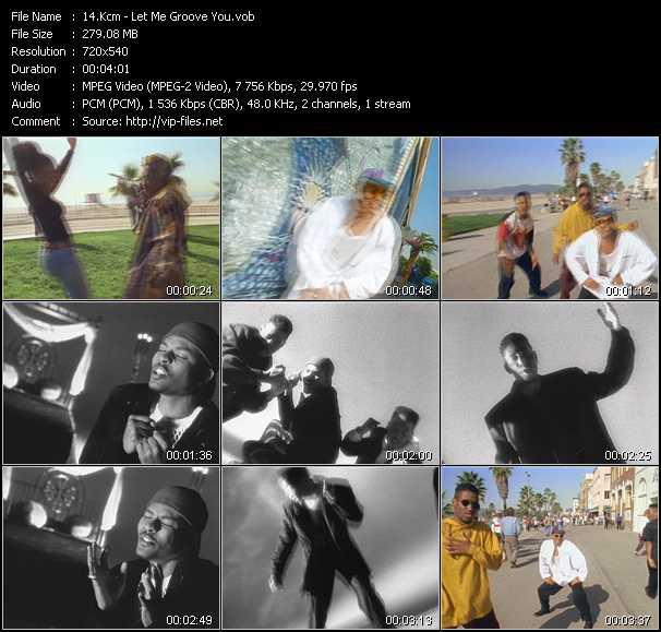 Kcm - Let Me Groove You
