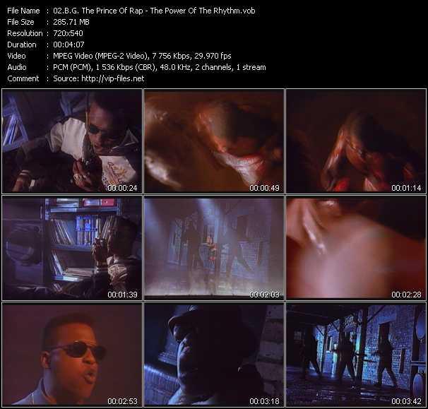 B.G. The Prince Of Rap - The Power Of The Rhythm