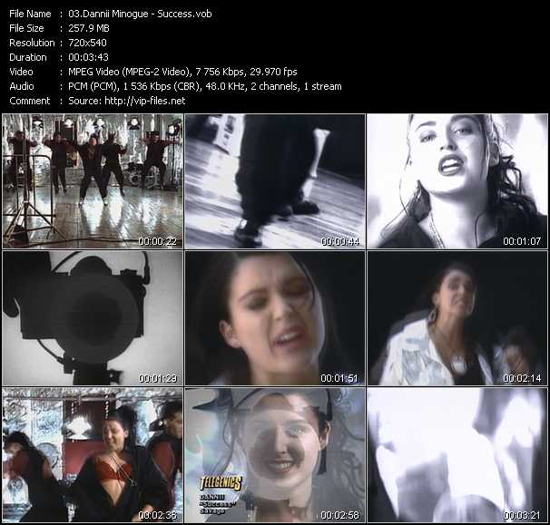 Dannii Minogue - Success