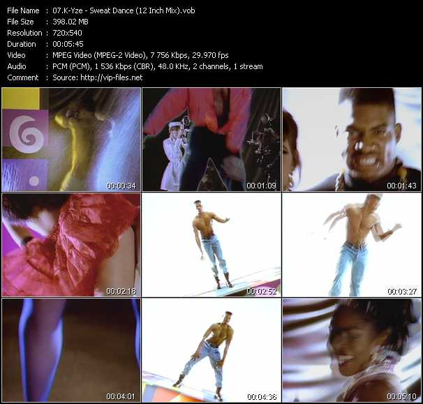 K-Yze - Sweat Dance (12 Inch Mix)