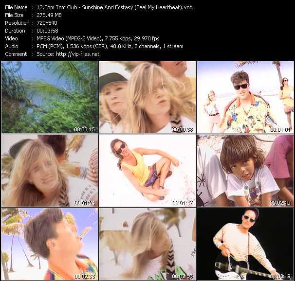Tom Tom Club - Sunshine And Ecstasy (Feel My Heartbeat)