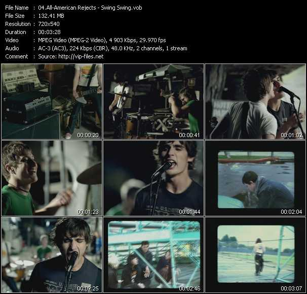 All-American Rejects - Swing Swing