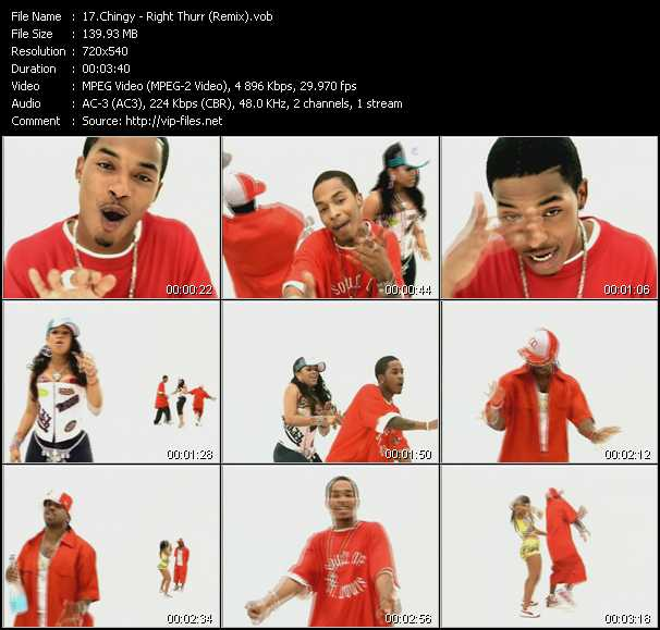 Chingy - Right Thurr (Remix)