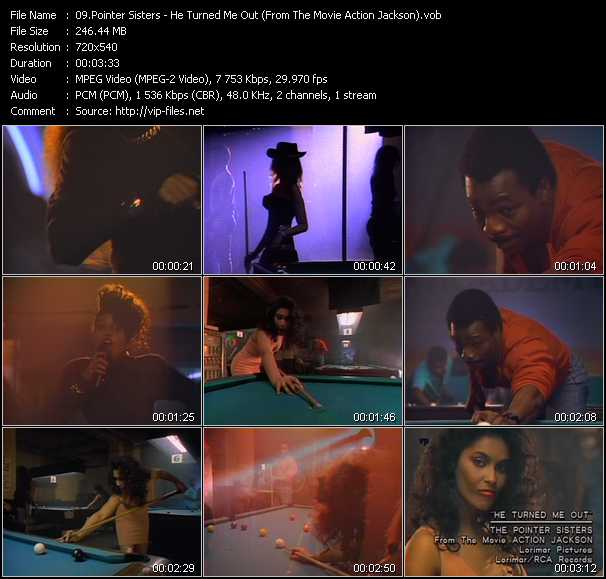 Pointer Sisters - He Turned Me Out (From The Movie Action Jackson)