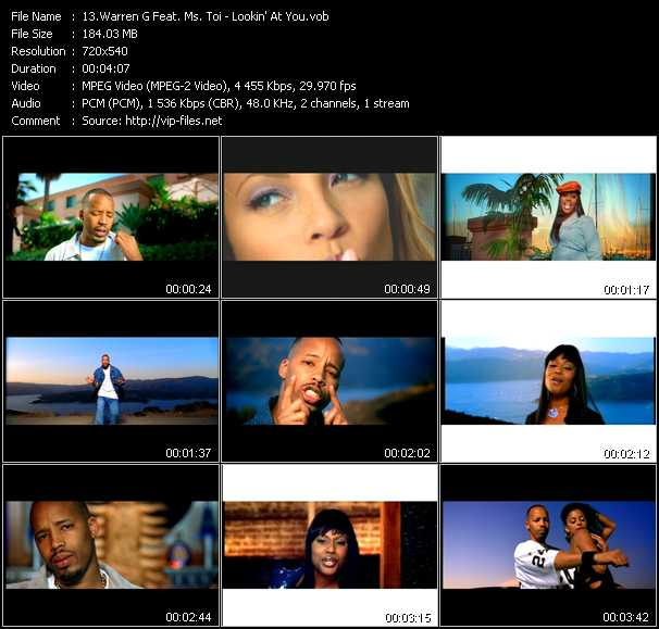 Warren G Feat. Ms. Toi - Lookin' At You