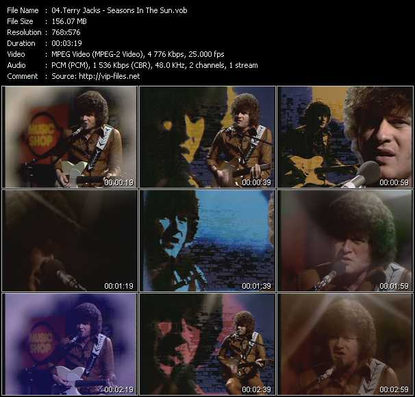 Terry Jacks - Seasons In The Sun (From Musikladen)