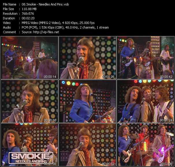 Smokie - Needles And Pins (From Musikladen)