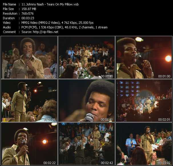 Johnny Nash - Tears On My Pillow (From Musikladen)