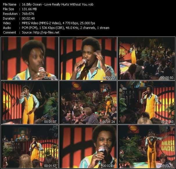 Billy Ocean - Love Really Hurts Without You (From Musikladen)